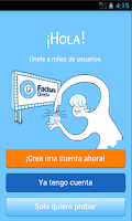Screenshot of Facturas con FacturaDirecta
