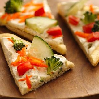 Vegetable Pizza Appetizer Sour Cream Recipes