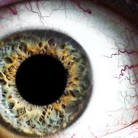 Eyeball by Andy Bottiglieri - People Body Parts