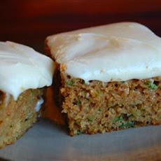 Courgette Cake Slices