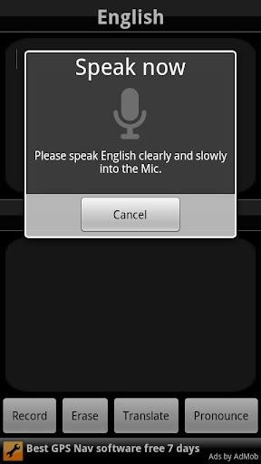 BabelFish Voice: German