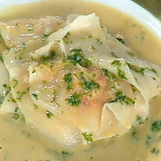 Lobster Ravioli in a Fennel and Chervil-Infused Nage