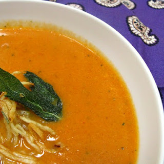 Roasted Vegetable Soup And 'subzee' (make One, Get One!)