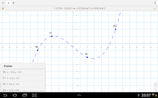 Screenshot of xGraphing