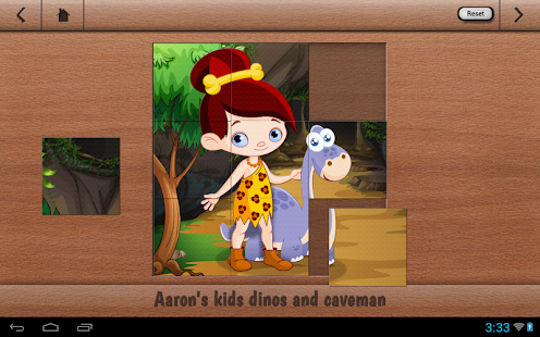 Aaron's Kids Dinosaur Puzzle - screenshot