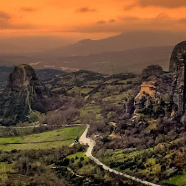 Meteora by Teodora Ivanova - Landscapes Travel ( meteora greece )