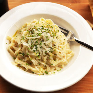 Lighter Fettuccine Alfredo