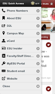 ESU Mobile - screenshot