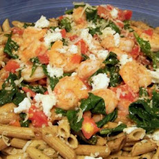 Pacific Northwest Prawn, Ricotta and Spinach Pasta