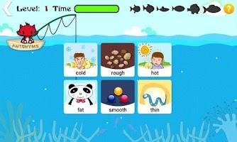 Screenshot of Kids Words Game