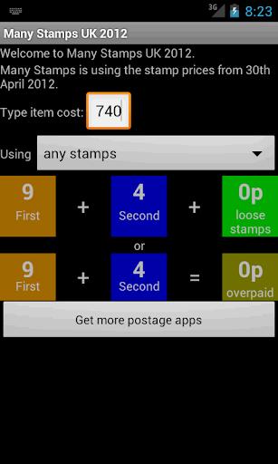 【免費商業App】Many Stamps UK 2014-APP點子