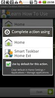 Screenshot of Smart Taskbar 1 Home ext