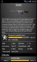 Screenshot of Battlefield BF3 Stats Premium