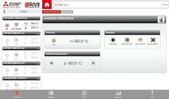 Screenshot of Mitsubishi Electric RMI
