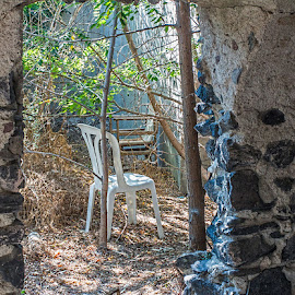 abandoned by Vibeke Friis - Artistic Objects Furniture ( chair, ruins, Chair, Chairs, Sitting )