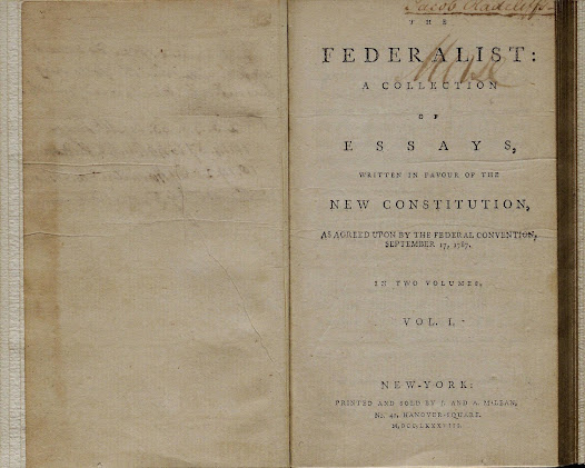 "To take effect, the Constitution had to be ratified by nine states. Hamilton initially planned 25 pro-Constitution essays, written by himself, James Madison, and John Jay, to appear anonymously in New York newspapers.  Eventually 85 essays appeared, known collectively as the <a href=""https://www.gilderlehrman.org/collections/0715777c-a93e-4131-ad01-796952633490?back=/mweb/search%3Fpage%3D1%2526needle%3Dlaw.%2526fields%3D_t301001400"">Federalist Papers</a> (Hamilton wrote 51, Madison 29, and Jay 5). Historians credit these essays with turning the tide in favor of ratification in New York and elsewhere."