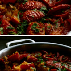 Tomato Paella with Chorizo