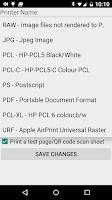 Screenshot of Let's Print Droid