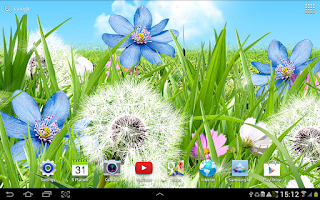 Screenshot of Summer Flowers Wallpaper