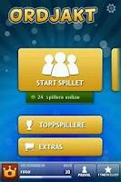 Screenshot of Ordjakt