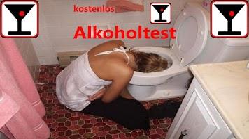 Screenshot of Alkoholtest