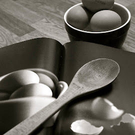 using eggs by Tracey Jones - Food & Drink Cooking & Baking ( ingredients, eggs, cooking and baking, recipe book,  )