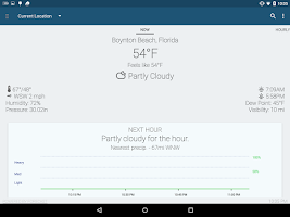Screenshot of Arcus Weather