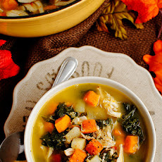 Harvest Chicken Quinoa Soup