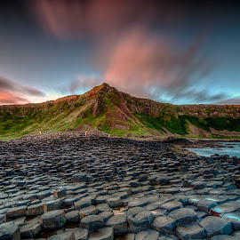 Giant's Causeway by Alnor Prieto - Landscapes Mountains & Hills ( giant's causeway )
