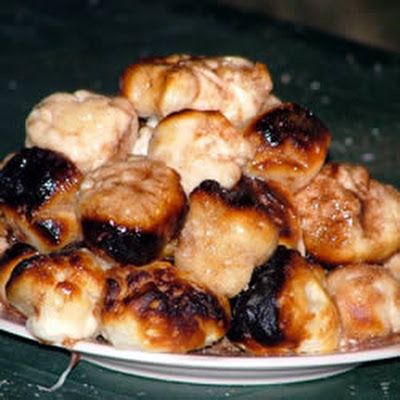 Sugared Campfire Donuts