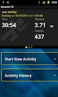 Screenshot of Garmin Fit™