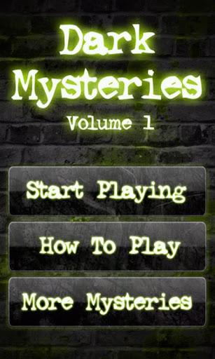 Dark Mysteries Vol. 1