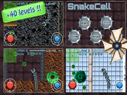 SnakeCell Full - screenshot