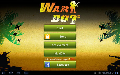 WarBot Dice HD for Tablet