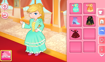 Screenshot of Dora's Wardrobe