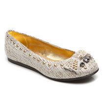 Mi.Mi.Sol Embellished Slip On SHOES