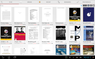 Screenshot of PDF Reader
