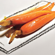 Baby Carrot Confit with Orange Juice and Cumin