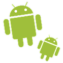 Dancing droid icon