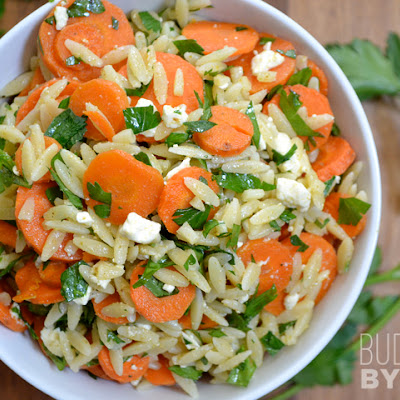 Carrot Orzo Salad