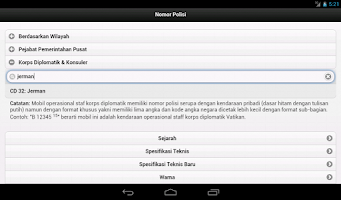 Screenshot of Plat Nomor Polisi