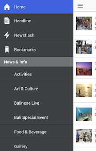 Bali Travel News for Android - screenshot