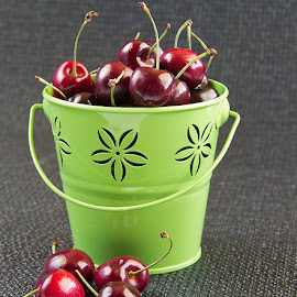 Cherry by Arthie Beighle - Food & Drink Fruits & Vegetables ( cherry, food and drink, fruits, food photography,  )