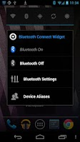 Screenshot of Bluetooth Connection Widget
