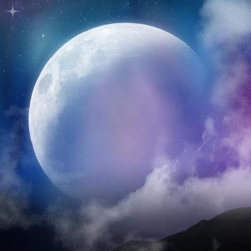 神秘之夜專業版動態桌布 Mystic Night 個人化 App LOGO-APP試玩