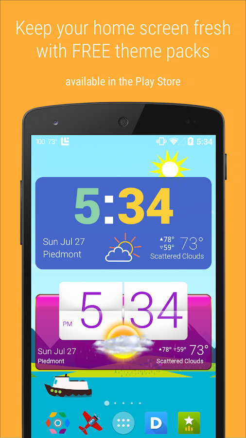 HD Widgets Screenshot 6