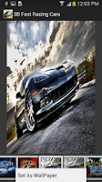 Screenshot of Racing Cars Wallpapers