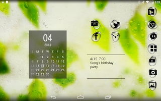 Screenshot of Rainy day Atom theme