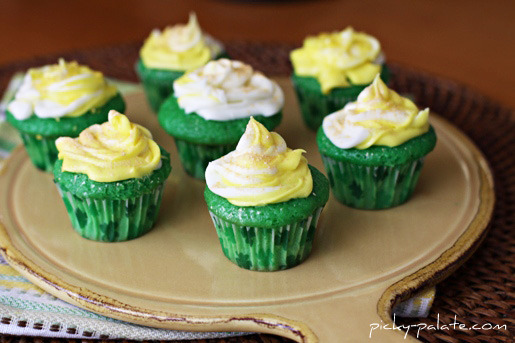 Lucky Green Velvet Baby Cakes Recipes — Dishmaps