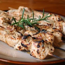 Rosemary Chicken Kebabs